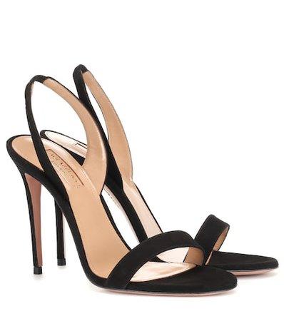 So Nude 105 suede sandals