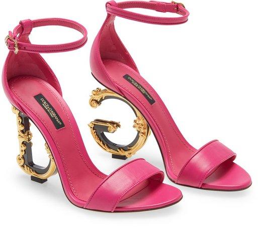 Keira Baroque Heel Sandal