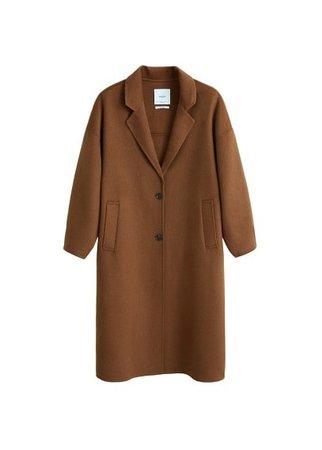 MANGO Handmade coat