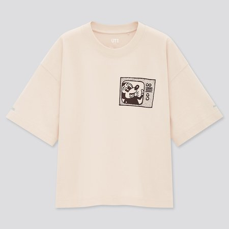 WOMEN MICKEY MOUSE X KEITH HARING UT (SHORT-SLEEVE GRAPHIC T-SHIRT) | UNIQLO US natural