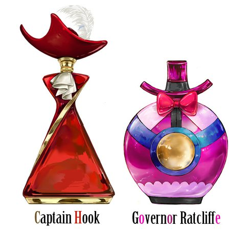 Governor Ratcliffe & Captain Hook Perfume