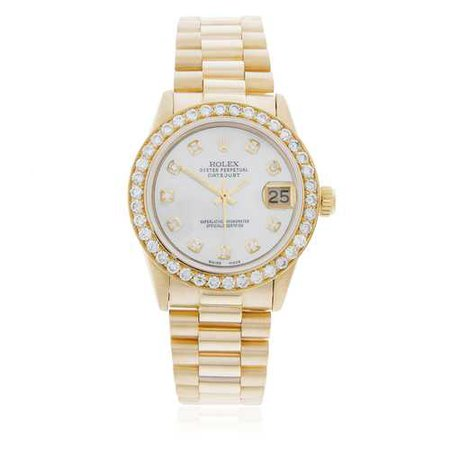 Gold Womens Rolex Watch