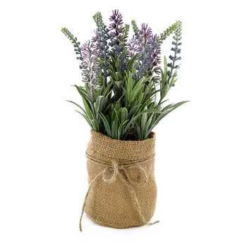 Lavender in Burlap Jar | Hobby Lobby | 668434