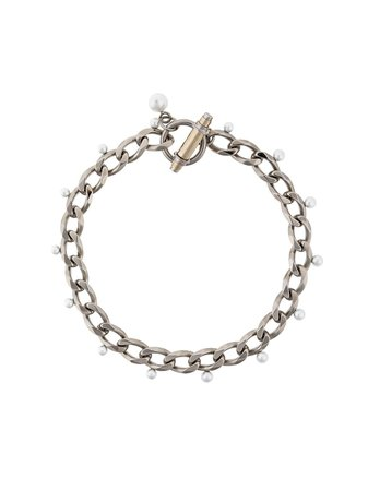 Givenchy Obsedia Faux Pearl Necklace - Farfetch