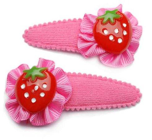 strawberry hairpin