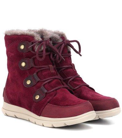 Explorer Joan suede boots