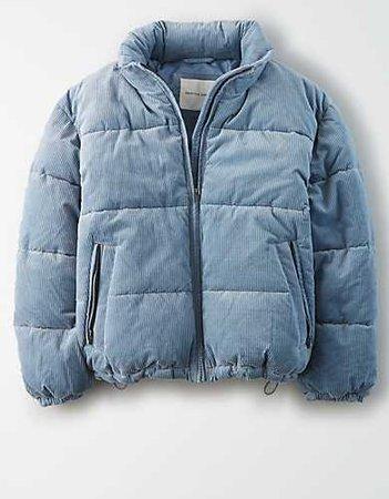 AE Corduroy Puffer Jacket