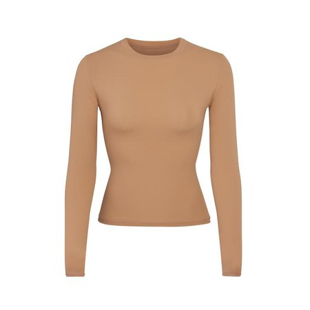 Fits Everybody Long Sleeve T-Shirt - Onyx | SKIMS