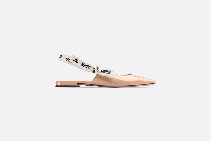 J'Adior patent calfskin ballet pump - Shoes - Women's Fashion   DIOR