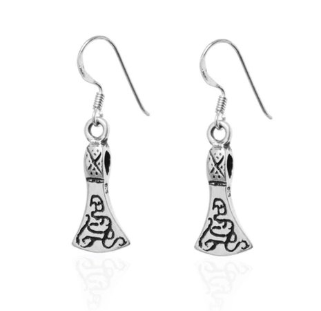 Viking Style Earrings by @grimfrost