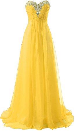 Amazon.com: JAEDEN Prom Dress Bridesmaid Dresses Long Prom Gown Chiffon Formal Evening Gowns A line Evening Dress Aqua US2: Clothing