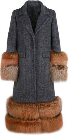 fur coat Lady