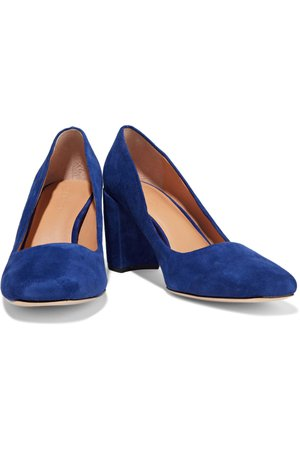 Mara suede pumps | HALSTON HERITAGE | Sale up to 70% off | THE OUTNET