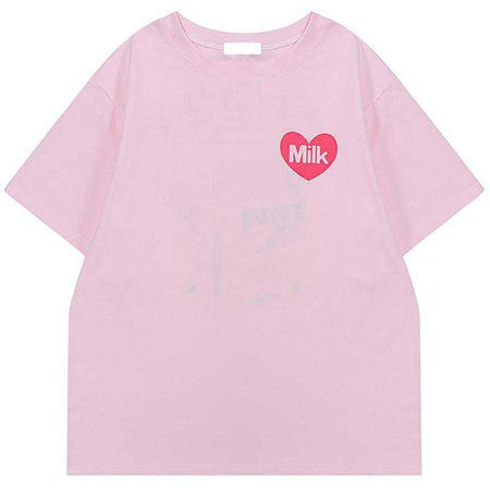 AESTHETIC MILK T-SHIRT – Boogzel Apparel