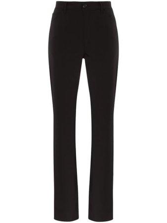 Maison Margiela straight-leg Gabardine Trousers - Farfetch