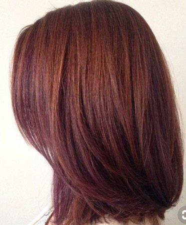 Red Auburn Short Hair
