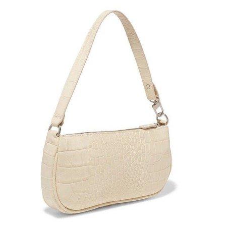 Crocodile Baguette Bag for Women Fashion Patent Leather Handbags Vinta - lisetoo