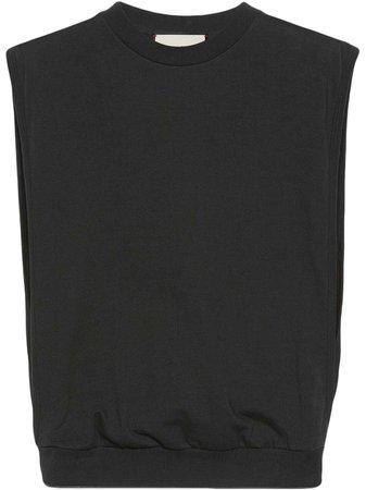 Gucci logo-print tank top - FARFETCH