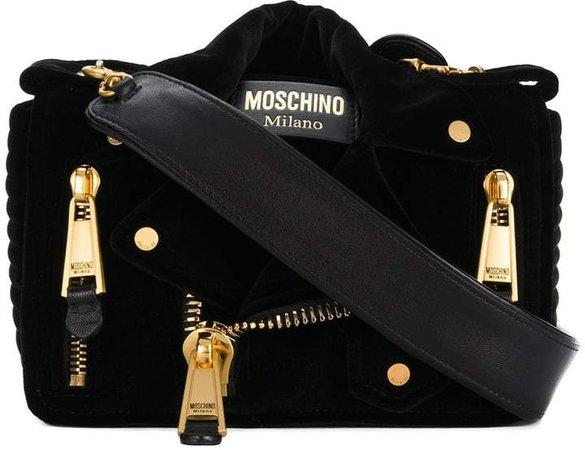 small biker shoulder bag
