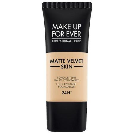 3 Foundation Matte Velvet Skin Full Coverage Foundation - MAKE UP FOR EVER | Sephora