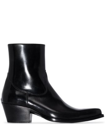 Sunflower patent-leather Cowboy Boots - Farfetch