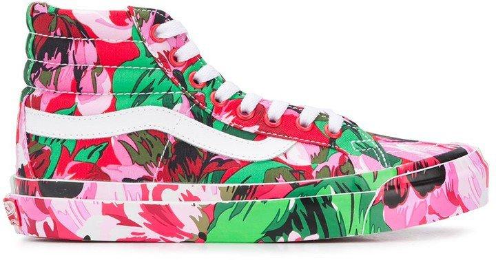 x Vans floral print Sk8-Hi sneakers