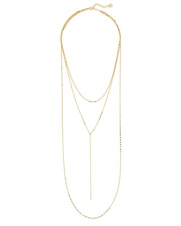 Argento Vivo Layered Chain Necklace | INTERMIX®