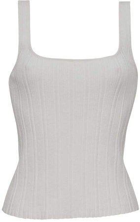 Six Lena Tank - White