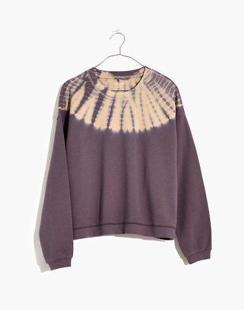Tie-Dye (Re)sourced Cotton Swing Sweatshirt