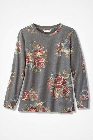 Antique Rose Sweatshirt - Coldwater Creek