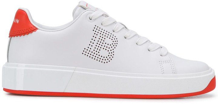 perforated B-Court sneakers