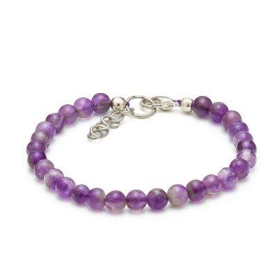 Amethyst Gemstone Bracelet | Mystic Self LLC