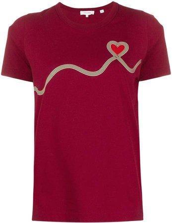 Chinti & heart print T-shirt