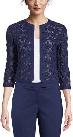Lace Open Front Cardigan