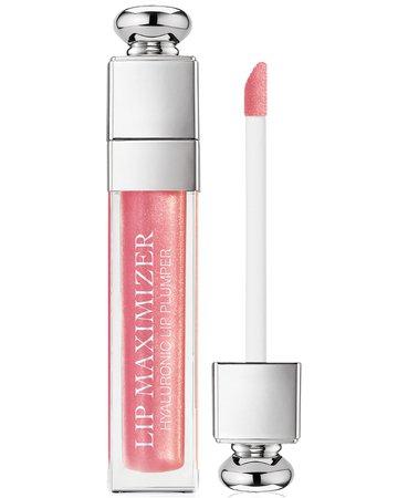 Lipgloss Dior Addict Lip Maximizer 010 Holo Pink & Reviews - Makeup - Beauty - Macy's