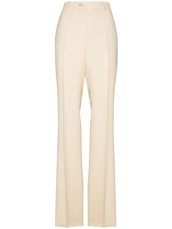 Gucci Tailored Flare Trousers - Farfetch