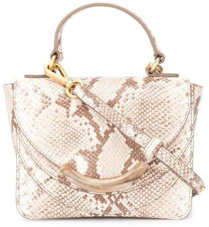 Luna snakeprint shoulder bag