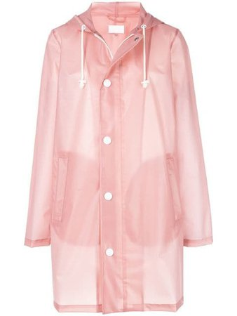 Mother sheer raincoat