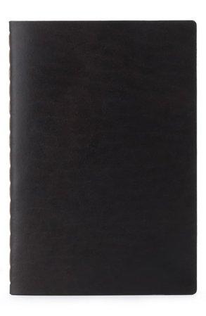 Ezra Arthur Medium Leather Notebook | Nordstrom