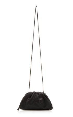 The Mini Pouch Leather Clutch By Bottega Veneta   Moda Operandi
