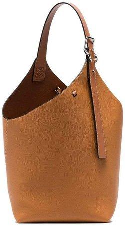 tan Balloon leather tote bag