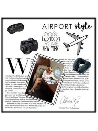 Airport style by @nicolenikulina