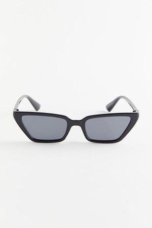 Milo Slim Rectangle Sunglasses | Urban Outfitters