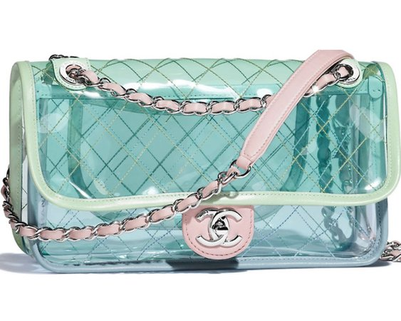 Chanel S/S 2018 PVC Bags