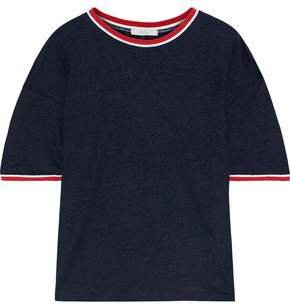 Alwyne Striped Slub Linen-jersey T-shirt