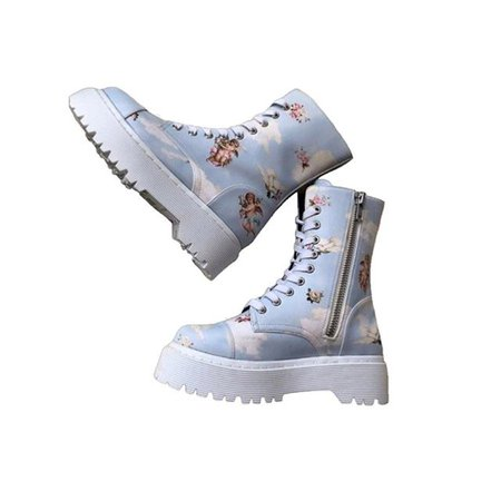 png shoes aesthetic angel boots