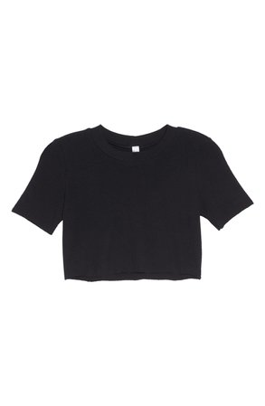 Alo Shelter Crop Tee