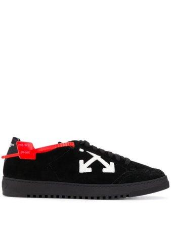 Off-White Low 2.0 Sneakers OMIA042R207800541010 Black   Farfetch