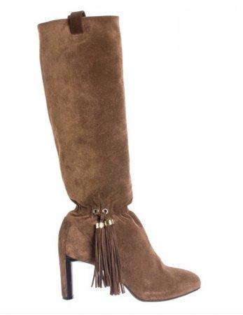 Celine suede boots