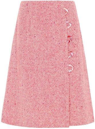 Sabinna Alexa Skirt Midi Pink